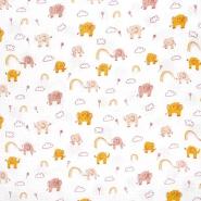 Tetra tkanina, dvostruka, dječji, 23645-001, bijela