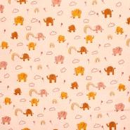 Tetra tkanina, dvostruka, dječji, 23645-002, marelica