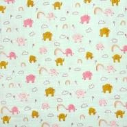Tetra tkanina, dvojna, otroški, 23645-004, mint