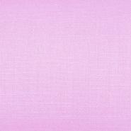 Bombaž, tanek, mečkanka, 4850-6, roza