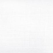 Bombaž, tanek, mečkanka, 4850-3A, bela