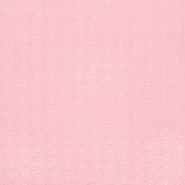 Tetra tkanina, dvojna, rišelje, cvetlični, 23450-007, roza