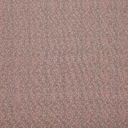 Jersey, bombaž, pikice, 23699-12, roza
