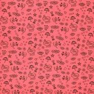 Jersey, mladenački, 23703-001, neon ružičasta