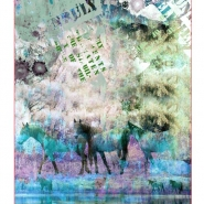 Jersey, bombaž, digital, živalski, 23765-10