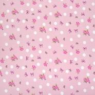 Prevešanka, digital, cvetlični, 23826-12, roza