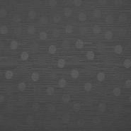 Otoman, žakard, 4146-345, temno siva