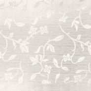 Otoman, žakard, 4146-141, smetana