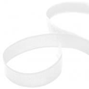 Ježek trak 25 mm, samolepilni, 25003-1, bela