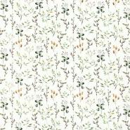 Jersey, bombaž, cvetlični, 24054-051