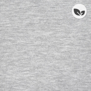Jersey, bambus, organski, 21798-065, svetlo siva
