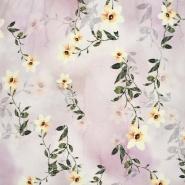 Jersey, viskoza, digital, cvetlični, 24303-5