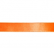 Trak, saten, 10 mm, 23085-510, oranžna
