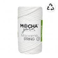 Pređa, Macrame String 4 mm, 24315-3, bijela