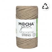 Preja, Macrame String 4 mm, 24315-9, bež