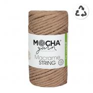 Preja, Macrame String 4 mm, 24315-10, bež-smeđa