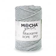 Pređa, Macrame Rope 2 mm, 24317-6, siva