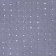 Tetra tkanina, dvojna, rišelje, 22719-043, vijola