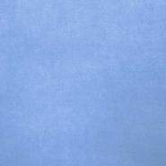 Pliš bombažen, 13348-006, svetlo modra