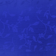 Ottoman, flowers, 014_4146-124, royal blue