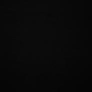 Pliš bombažen, 3078-01, črna