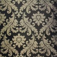 Deko žakard, stilni barok zlatna, 12594-6234
