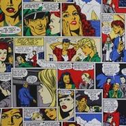 Dekostoff, Druck, Comic, 12621-01