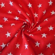 Cotton, poplin, stars, 12569-215