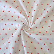 Cotton, poplin, stars, 12569-515