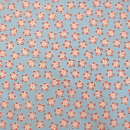 Cotton, poplin, flowers for patchwork, 12673-04