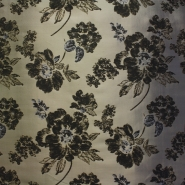 Deko žakard, stilno cvijeće, 12592-4677