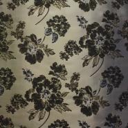 Deco jacquard, roses, 12592-4677