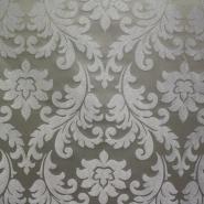 Deko žakard, stilni barok zlatna/srebrna, 12593-6234
