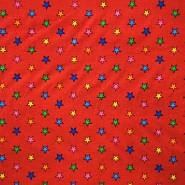 Baumwolle, Popeline, Sterne, 13105-003