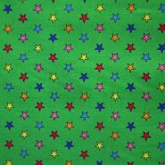 Baumwolle, Popeline, Sterne, 13105-007