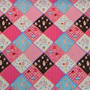 Cotton, poplin, patchwork, 13116-001
