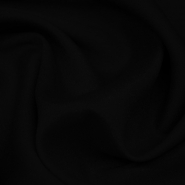 Chiffon crepe, polyester, 13176-39, black