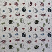 Deko žakard, ježki, 13179-32