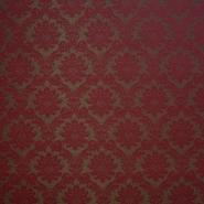 Deko žakard, barok, 13204-05, bordo