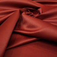 Decorative satin, 13205-05, burgundy / bronze