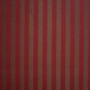 Deko žakard, črte, 13206-05, bordo