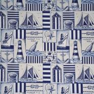 Deko žakard, morski, 13246
