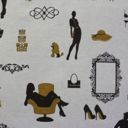 Deco jacquard, wardrobe 13362-713