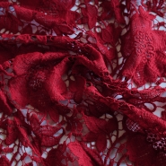 Lace, 13485-7, dark red